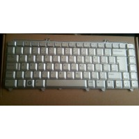 DELL INSPIRON 1520 1521 XPS M1530 UK LAYOUT SILVER KEYBOARD 0NK844 - Ref: J55