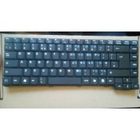 Rock 9515 Laptop Black UK Keyboard. Model: V011818BK1, P/N: 531081391 - Ref: J62