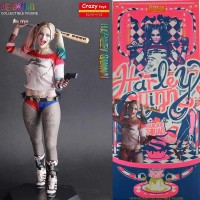 Suicide Squad Harley Quinn Figure 30cm Real Clothes Crazy Toys 1/6th