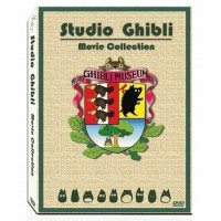 Studio Ghibli Miyazaki Hayao English Movies Box 17 Movie 6 Disc Set